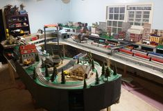 The Layout Room of Tackindy in O scale | One almost ready layout in O-scale, designed in SCARM and build by Tackindy – a forum member in OGR Forum.