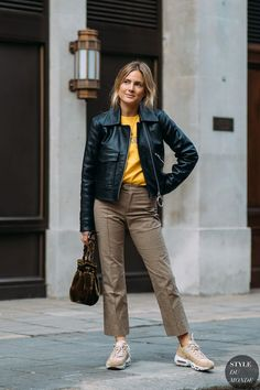 London FW 2018 Street Style: Lucy Williams