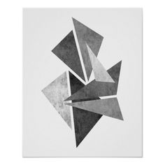 Modern minimalist geometric abstract art print #wallart #wallartdecor #wallartprints #abstractart #posters