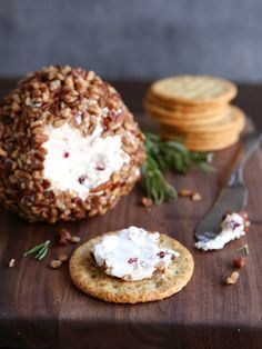 This holiday pecan cheese ball is filled with smoked gouda, dried cranberries and rosemary, and is perfect for entertaining!  I'm not sure why I waited so long to fall in love with cheese balls. Maybe it's because they often play [...]