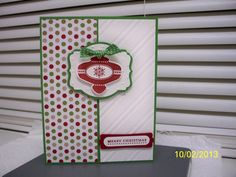 Christmas Collectible Ornament by D. Daisy - Cards and Paper Crafts at Splitcoaststampers