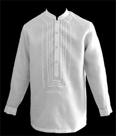 White Barong Tagalog - Barongs R us Suit Up, Suit And Tie, Barong Wedding, Priest Outfit, Barong Tagalog, Filipiniana Dress, Philippines Fashion, Men With Street Style, Line Shopping