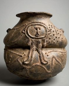 Africa | A vessel from the Mambila peoples - Nigeria, Cameroon