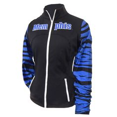 Women's Memphis Tigers Fitted Activewear Jacket