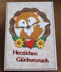 Glückwunschkarten - Glückwunschkarte zum Geburtstag - ein Designerstück von Wollzottel bei DaWanda