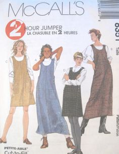 women's jumper patterns   mccalls sewing pattern pattern number 8351 2 hour pattern for