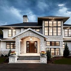 70 Most Popular Dream House Exterior Design Ideas House Designs Exterior design dream exterior house ideas popular Dream House Exterior, Dream House Plans, Dream Houses, Home Exterior Design, Interior Design, Luxury Homes Exterior, Exterior Houses, House Exteriors, Style At Home