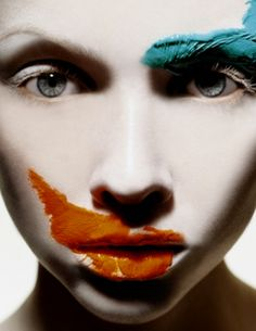 Alexander Straulino: I love his use of bold color to bring so much drama to simplistic features of the human face