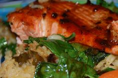 Javanese Salmon from my sister's and my recipe blog - yum!