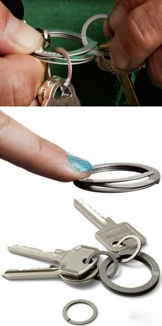 Wow, So Easy Key Ring!