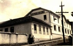 Década de 40 - Colégio Paroquial de Santa Edwiges, no bairro do Ipiranga.