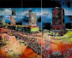 Gil Heitor Cortesão, Sem Título (Manifestação), 2004