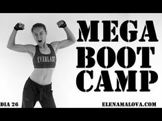 BOOT CAMP + buns of steel | 26 # mega5semanas - YouTube