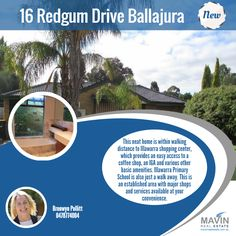 """""""#NewProperty For #Rent 16 Redgum Drive Ballajura""""- This neat home is within walking distance to Illawarra shopping center, which provides an easy access to a coffee shop, an IGA and various other basic amenities. Illawarra Primary School is also just a walk away. This is an established area with major shops and services available at your convenience. To know more about this property click here: www.mavinrealestate.com.au Or Contact Bronwyn Pollitt at 0478774004"""