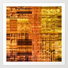 Abstraction Art Print by Jean-François Dupuis - $18.72
