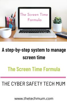 A Step-by-Step System to Manage Screen Time | Screen Time Management | Screen Time for Kids | Easy Screen Time System | Internet Safety Tips for Parents | Cyber Safety for Kids