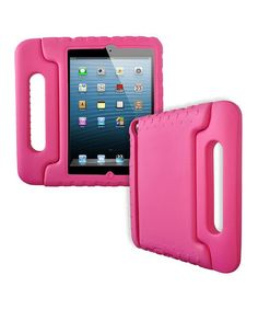 Take a look at this Pink Kid Friendly Protective Shell Case For iPad mini by Totally Tablet Accessories on #zulily today!