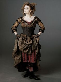 reliquatory:    Helena Bonham Carter as Mrs. Lovett, Sweeney Todd  A perfect blend of Dolly Kei & Gothic.