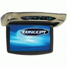 Special Offers - Concept CFD-135 13.3-Inch Ceiling-Mount Monitor Dvd with H Input High Audio Out and Touch Buttons - In stock & Free Shipping. You can save more money! Check It (May 26 2016 at 01:16PM) >> http://caraudiosysusa.net/concept-cfd-135-13-3-inch-ceiling-mount-monitor-dvd-with-h-input-high-audio-out-and-touch-buttons/