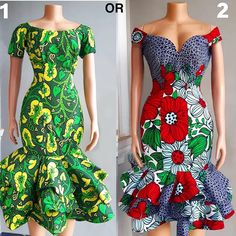 Simple Ankara Gown Styles For The Weekends Latest African Fashion Dresses, African Print Dresses, African Dresses For Women, African Print Fashion, African Attire, African Outfits, Ankara Fashion, Unique Ankara Styles, Ankara Short Gown Styles