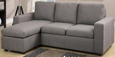 Reversible Sectional Sofa Modular design is featured in this modern sectional perfect for an den or office space. Available in black or Red linen-textured fabric. Sofa x x Ottoman: Sectional Sofa Sale, Fabric Sectional, Modern Sectional, Sofa Set, Couches, Sleeper Couch, Fabric Ottoman, Chaise Sofa, Reclining Sofa