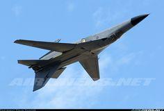 F-111 inverted.