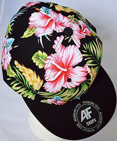 'Tropical Paradise Snapback Hat' http://www.shopaffordablychicboutique.com
