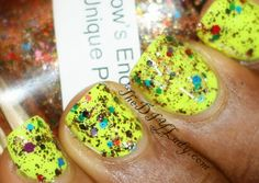 Nail'd It Rainbows End (silver label, swatched)- $2