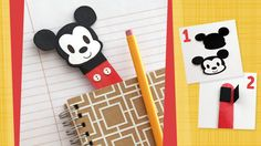 Separador de libros de Mickey
