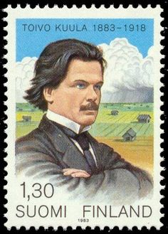 Postage stamp depicting the Finnish composer Toivo Kuula, 1983 Postage Stamp Collection, Good Old Times, Stamp Collecting, Music Lovers, Time Travel, Postage Stamps, Einstein, Nostalgia, Day