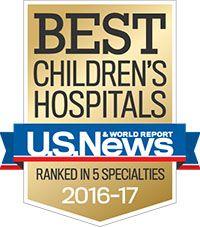 U.S. News & World Report ranks UC Davis Children's Hospital among nation's best