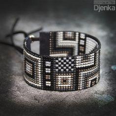 Bransoletka etniczna - beading - Yorkton - Djenka