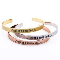 bracelet cadeau originaux  #braceletmanchette