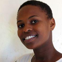 Thirteen year old orphan girl in Moshi, Tanzania