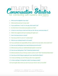 62 Ideas Question Games For Teens Conversation Starters For 2019 Counseling Teens, Counseling Activities, Therapy Activities, Icebreaker Activities, Activities For Teens, Games For Teens, Indoor Activities, Summer Activities, Family Activities