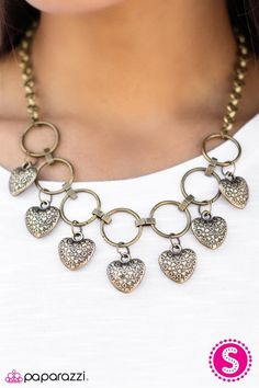 We've got a formula for fabulous: Fashion. Come see what the Paparazzi party is all about. Paparazzi Accessories, Paparazzi Jewelry, Brass Jewelry, Heart Patterns, Heart Charm, Diva, Deserts, Design Inspiration, Charmed