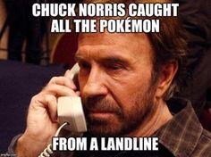 Chuck Norris won Pokemon Go