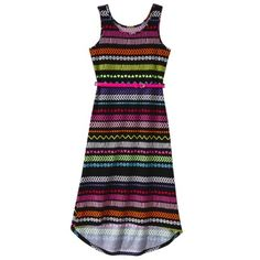 Circo® Girls' Maxi Dress -  Ebony