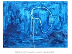The Blues of Africa by Conor Mccreedy Africa, Art, Paintings, Blue, Art Background, Kunst, Gcse Art, Afro