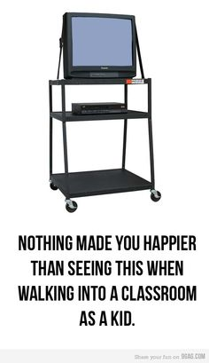 I LOVED the days in school when you saw this beauty in the front of your classroom!