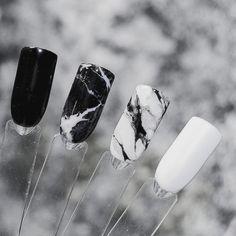 Marmur neonail nails marble nails, gel nails и nails Black Marble Nails, Marble Acrylic Nails, Summer Acrylic Nails, Best Acrylic Nails, Marbled Nails, Black Nails, Marble Nail Designs, Acrylic Nail Designs, Black Nail Designs