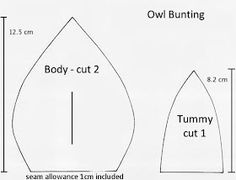 Owl Bunting - Felt Materials: · Fabric for owl x Owl Bunting, Make Bunting, Fabric Bunting, Bunting Ideas, Buntings, Bunting Template, Bunting Pattern, Owl Quilts, Bird Quilt