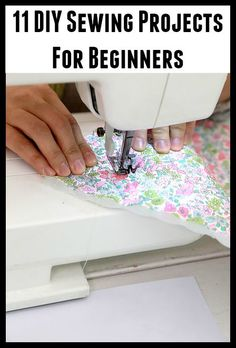 11 DIY Sewing Projects For Beginners