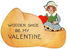 Vintage Dutch Valentine