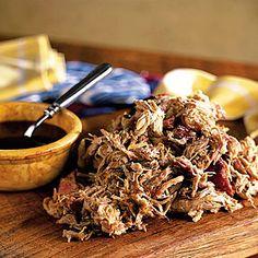 Smoky Barbecue Recipes | Smoked Pork Shoulder | SouthernLiving.com