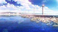 「凪のあすから 背景」の画像検索結果