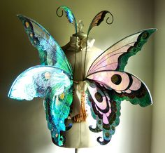 Butterfly Fairy Wings Wedding Halloween by WhimsyEverlasting, $215.00