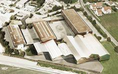 edburg.com | architekturvisualisierung | Erweiterung Sammlungszentrum | für Stuecheli Architekten, 3d Rendering, Architects, Photo Illustration
