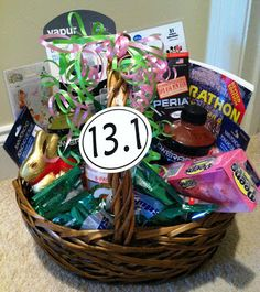 We Run Disney: An Easter Basket for A Runner!