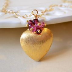 NEW Valentines Day Jewelry Heart Necklace Genuine by livjewellery, $150.00 https://www.etsy.com/listing/175508881/new-valentines-day-jewelry-heart?ref=shop_home_active_2